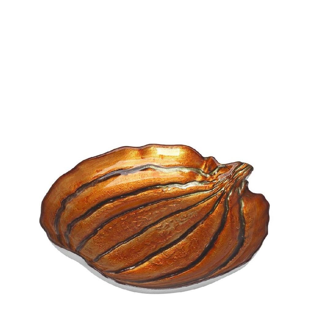 Διακοσμητική Πιατέλα Pumpkin ESPIEL 23x22x3,8εκ. AD1708 (Χρώμα: Πορτοκαλί) – ESPIEL – AD1708
