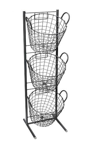 «Μανάβης» 3 Όροφος ESPIEL 29x27x90εκ. AST401 – ESPIEL – AST401
