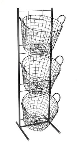 «Μανάβης» 3 Όροφος ESPIEL 35x33x114εκ. AST402 – ESPIEL – AST402