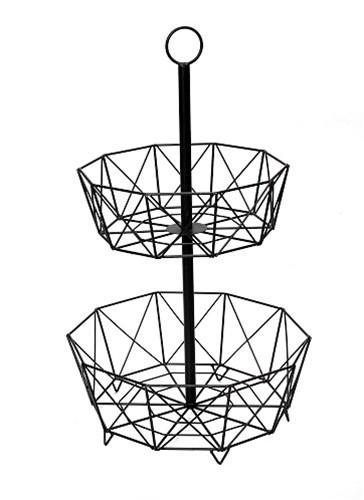Φρουτιέρα Διόροφη ESPIEL 37x30x60εκ. AST404 – ESPIEL – AST404