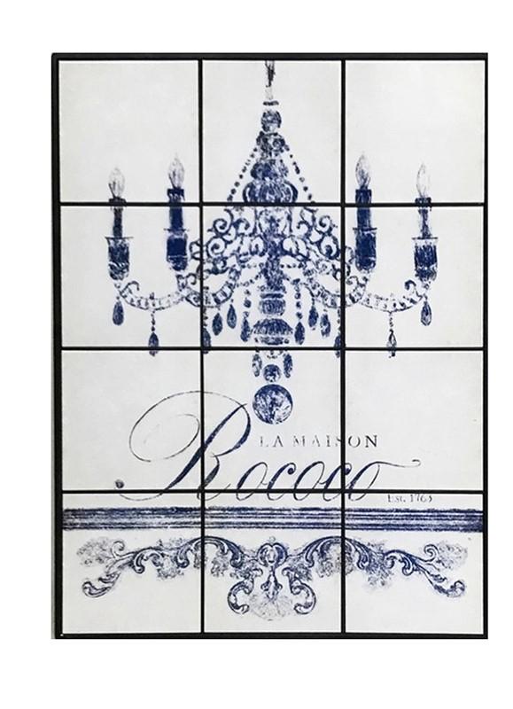 Πίνακας Με Πλακάκι «Πολυέλαιος» ESPIEL 63x4x84εκ. SAZ107 – ESPIEL – SAZ107