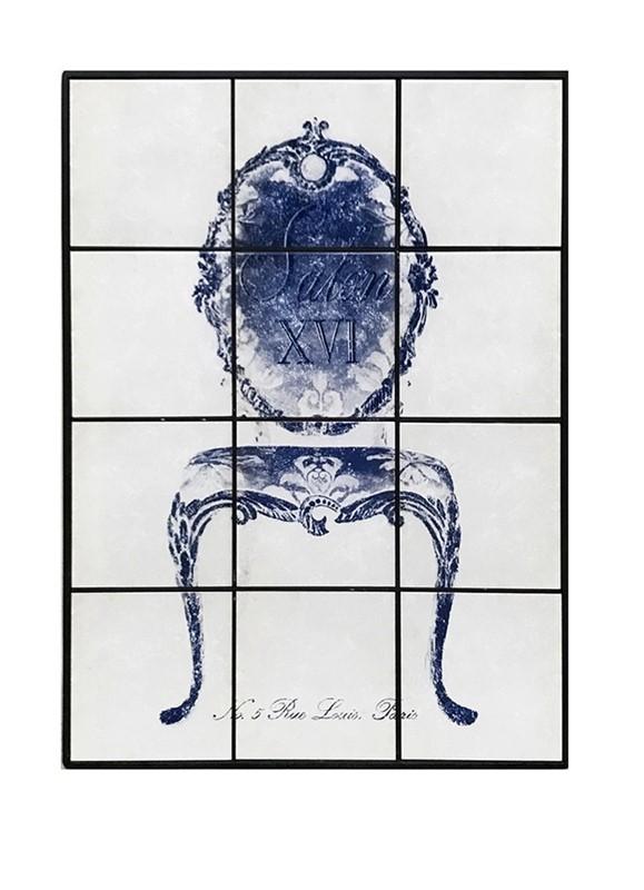 Πίνακας Με Πλακάκι «Πολυθρόνα» ESPIEL 63x4x84εκ. SAZ108 – ESPIEL – SAZ108