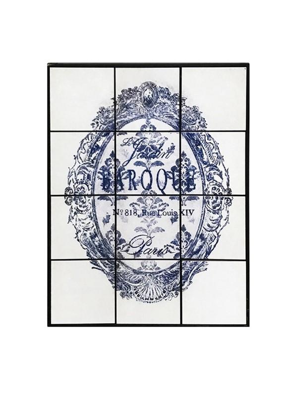 Πίνακας Με Πλακάκι «Έμβλημα» ESPIEL 63x4x84εκ. SAZ110 – ESPIEL – SAZ110