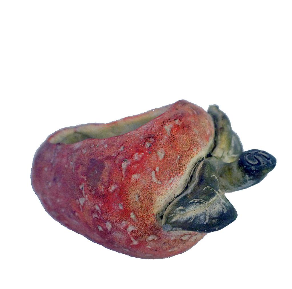 Κασπώ Κεραμικό Φράουλα ESPIEL 24x18x15εκ. JOE209 (Υλικό: Κεραμικό) – ESPIEL – JOE209