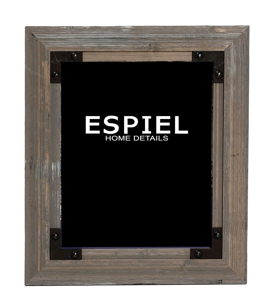 Κορνίζα Ξύλινη 15,6×1,4×20,6εκ. ESPIEL SOF126 – ESPIEL – SOF126