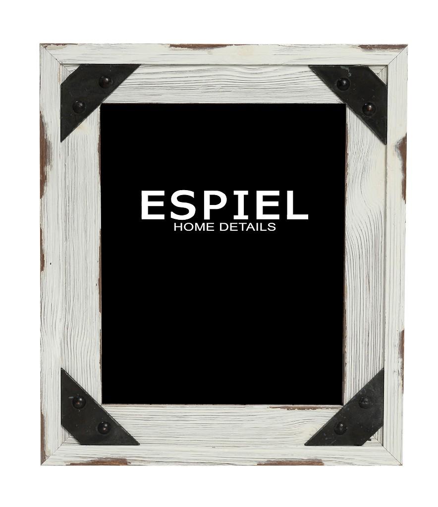 Κορνίζα Ξύλινη-Μεταλλική Espiel 28×1,5×33εκ. SOF116 – ESPIEL – SOF116