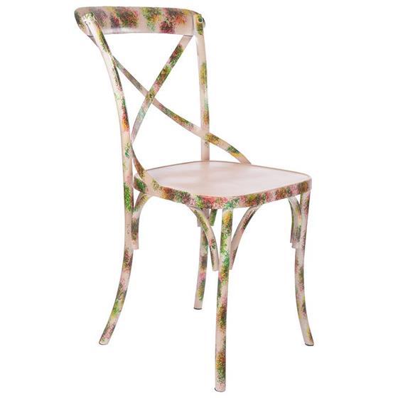 Καρέκλα Μεταλλική inart Μπεζ – inart – 3-50-410-0003