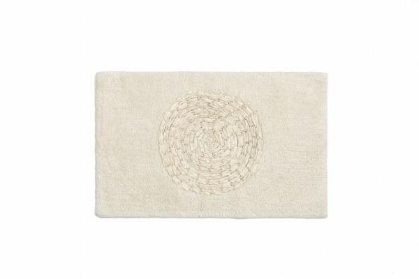 Ταπετο μπάνιου βαμβακερό Oriental - Palamaiki - oriental-ecru λευκα ειδη mπάνιο χαλάκια μπάνιου