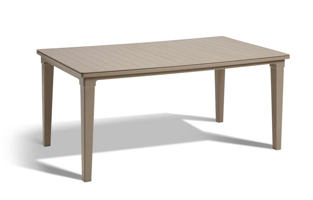 Τραπέζι Κήπου Futura Cappuccino – Allibert – futura-table-cappuccino