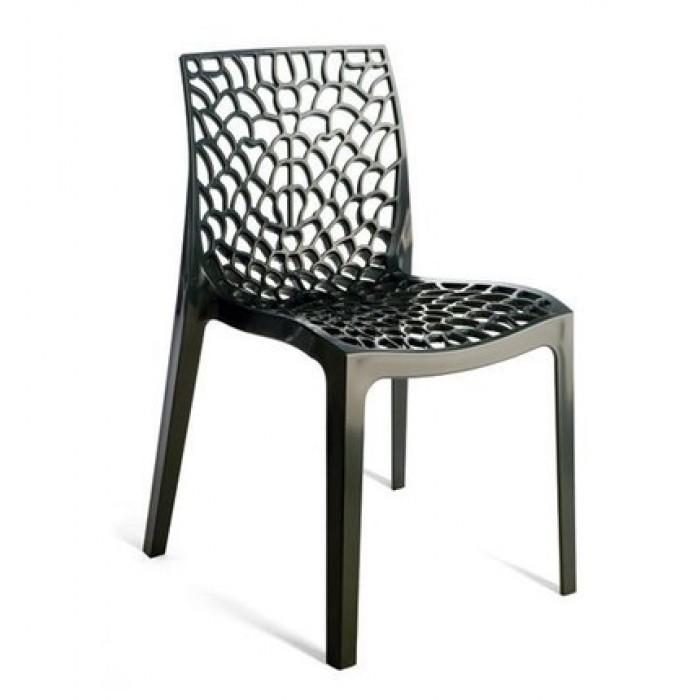 Καρέκλα Πολυπροπυλενίου Gruvyer Anthracite – OEM – 13-gruvyer-anthracite