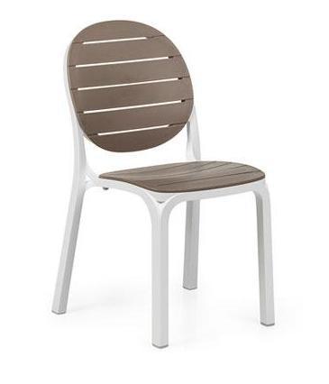 Καρέκλα Εξωτερικού Χώρου Erica White/Tortora – OEM – 13-erica-white/tortora