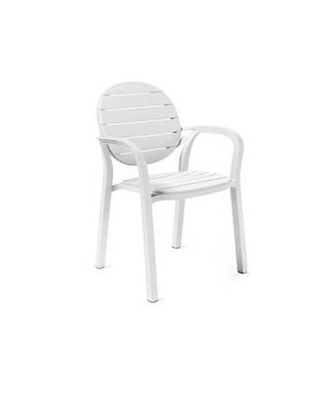 Πολυθρόνα Εξωτερικού Χώρου Palma White – OEM – 13-palma-white