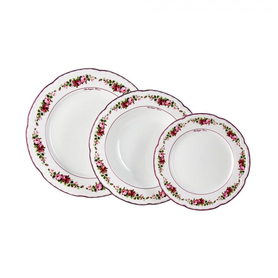 Σερβίτσιο Φαγητού Σετ 19τμχ Πορσελάνης Romantica WM Collection N14621 (Υλικό: Πορσελάνη) – WM COLLECTION – N14621-20