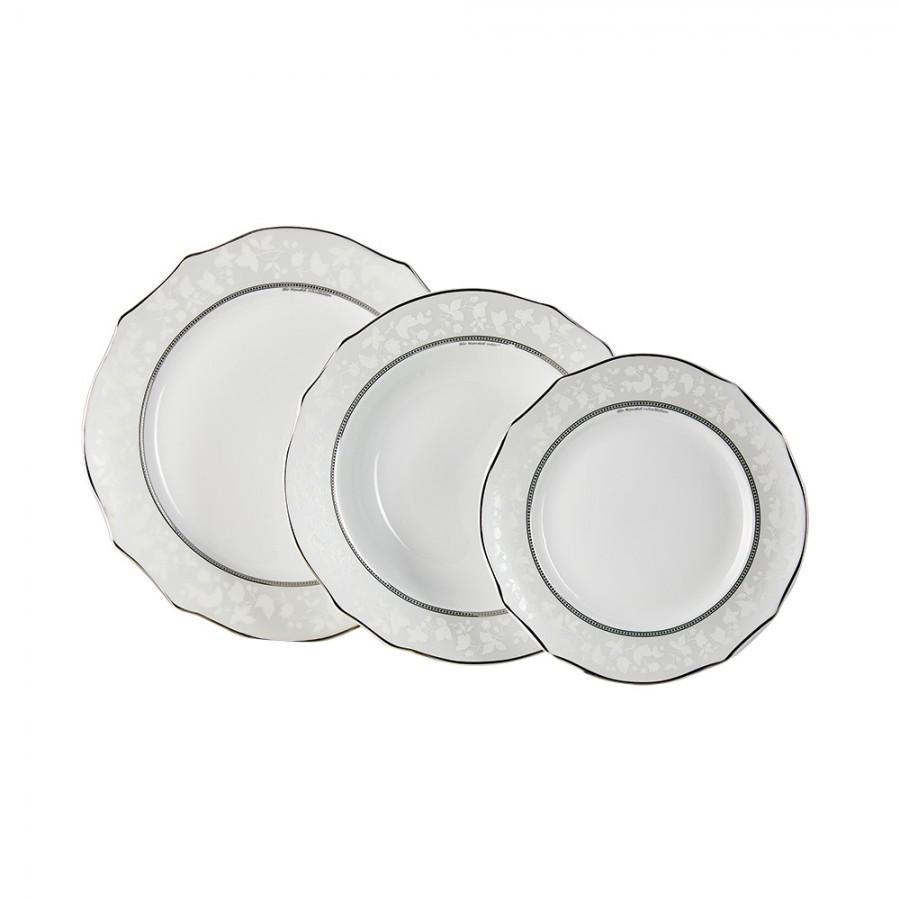Σερβίτσιο Φαγητού Σετ 20τμχ Πορσελάνης Octavia WM Collection N6650 (Υλικό: Πορσελάνη) – WM COLLECTION – Ν6650-20