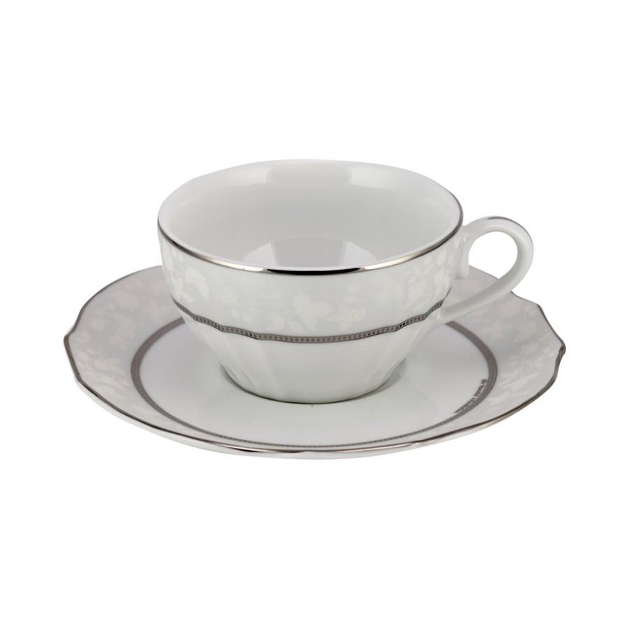 Σετ 6τμχ Φλυτζάνια Τσαγιού Πορσελάνης Octavia WM Collection 200ml (Υλικό: Πορσελάνη) – WM COLLECTION – Ν6650-tea