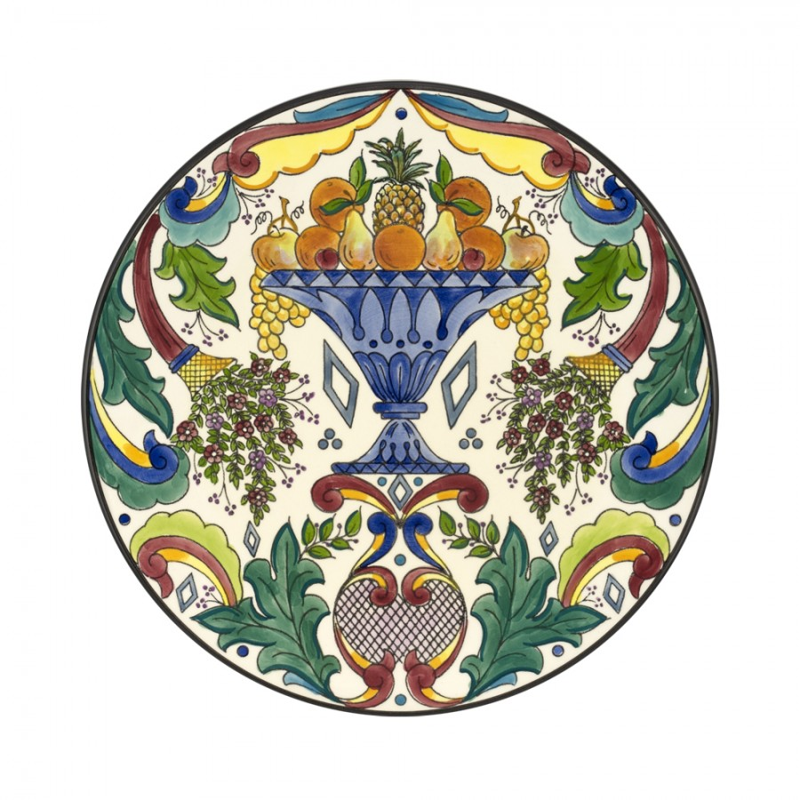 Διακοσμητικό Πιάτο Κεραμικό WM Collection Δ32εκ. NVenecia/B (Υλικό: Κεραμικό) – WM COLLECTION – NVenecia/B