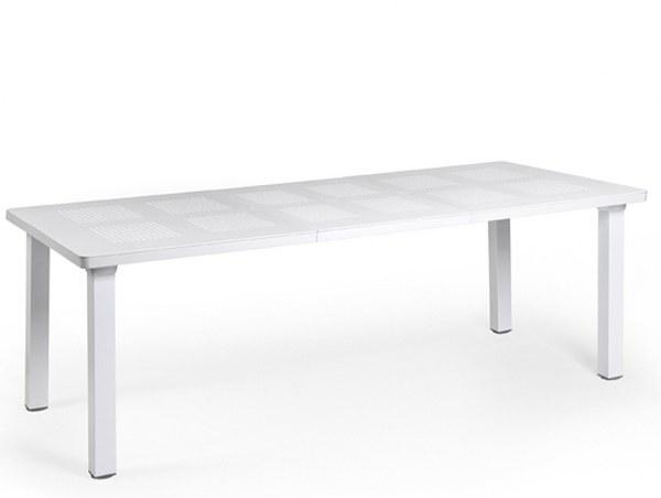 Τραπέζι Επεκτεινόμενο Εξωτερικού Χώρου Levante White – OEM – levante-table-white