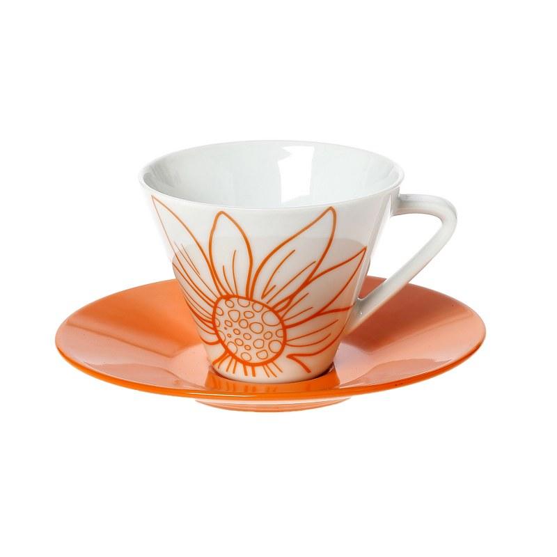 Σετ Φλυτζάνια Καφέ 6τμχ Πορσελάνης Oranie CRYSPO TRIO 25.392.17 (Υλικό: Πορσελάνη) – CRYSPO TRIO – 25.392.17