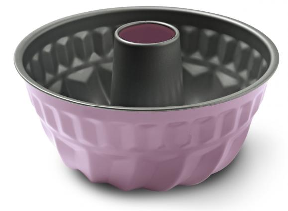 Φόρμα Κέικ Αντικολλητική Χάλυβα 23×9εκ. Colors PAL 050.000377-Pink (Υλικό: Χάλυβας ) – PAL – 050.000377-pink