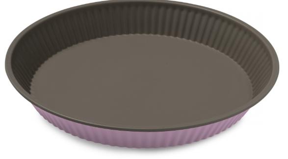 Φόρμα Τάρτας Αντικολλητική Χάλυβα 28×4εκ. Colors PAL 050.000380-Pink (Υλικό: Χάλυβας ) – PAL – 050.000380-pink