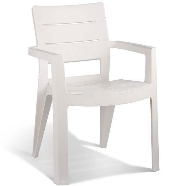 Πολυθρόνα Εξωτερικού Χώρου Ibiza-O White – Allibert – ibiza-o-armchair-white