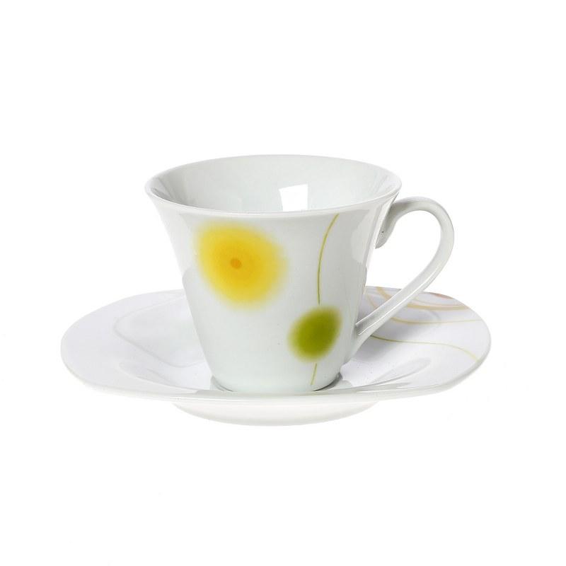 Σετ Φλυτζάνια Καφέ 6τμχ Πορσελάνης Roxana CRYSPO TRIO 25.020.17 (Υλικό: Πορσελάνη) – CRYSPO TRIO – 25.020.17