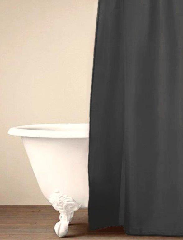 Κουρτίνα Μπάνιου Palamaiki Simple Grey 180×240εκ. – Palamaiki – 5205857181413