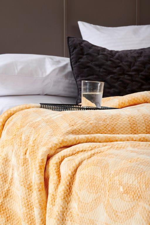 Κουβέρτα Υπέρδιπλη Smooth Orange – Palamaiki – 5205857122010