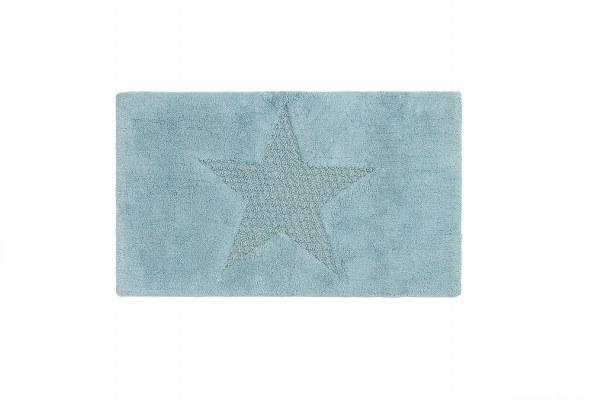 Ταπετο μπάνιου βαμβακερό Star - Palamaiki - star-mint λευκα ειδη mπάνιο χαλάκια μπάνιου